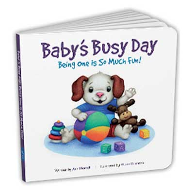 Free Baby's Busy Day Book