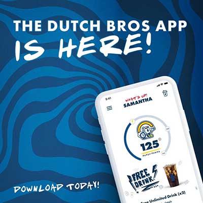 Free Drink at Dutch Bros Coffee