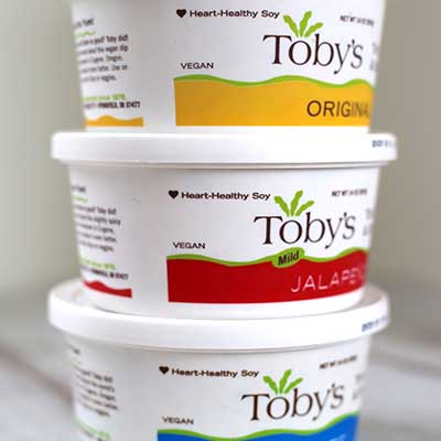 Free Toby's Plant-Based Dip and Spread Coupon
