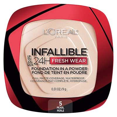 Free L'Oreal Paris Infallible Foundation Powder