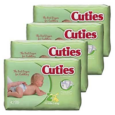 Free Cuties Diapers