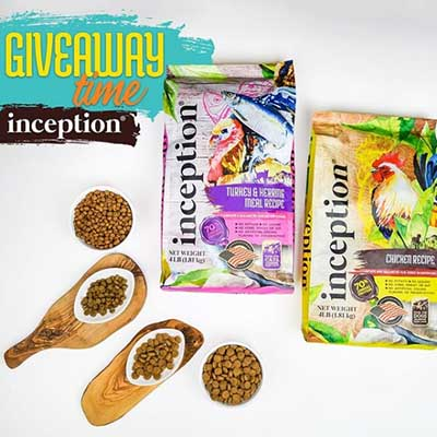 Free Bag of Inception Pet Foods