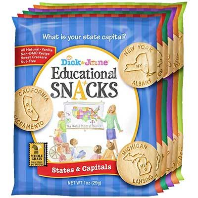 Free Dick & Jane Educational Snacks