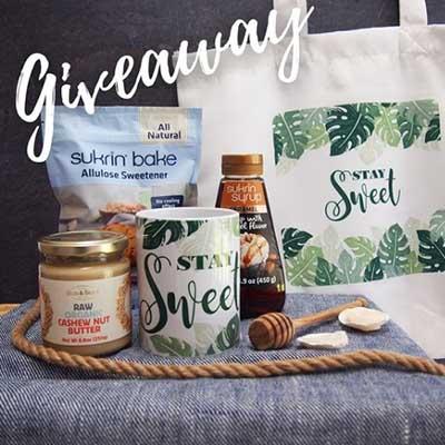 Free Sukrin Products, Mug and Tote Bag