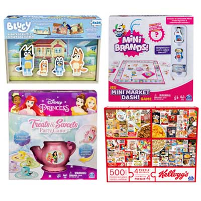 Free Spin Master Puzzles (Tryazon)