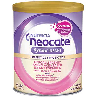 Free Nutricia Neocate Baby Formula