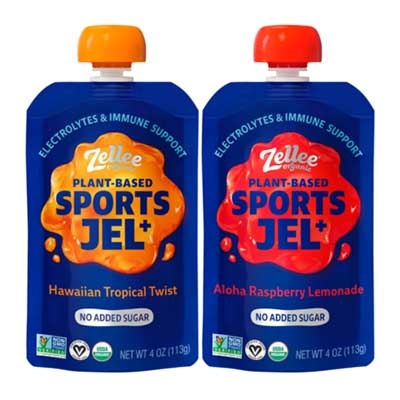 Free Zellee Organic Plant-Based Sports Jel (Reviewers)