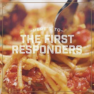 Free Spaghetti at Romano's Macaroni Grill (First Responders)