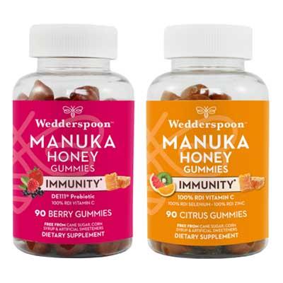 Free Wedderspoon Immunity Gummies (Reviewers)